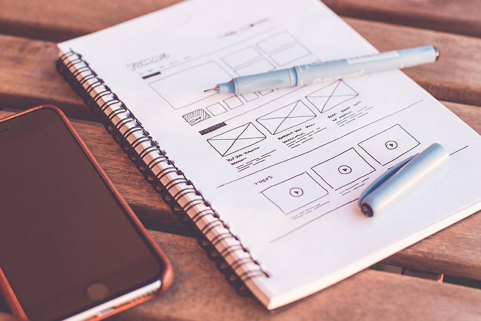 WMe Webdesign - Wireframe