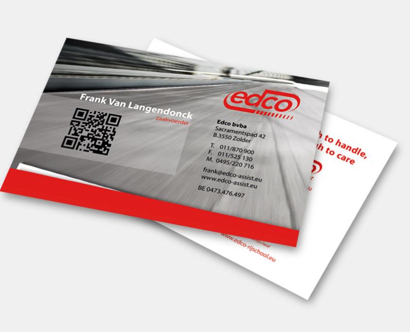 Edco - Naamkaartje