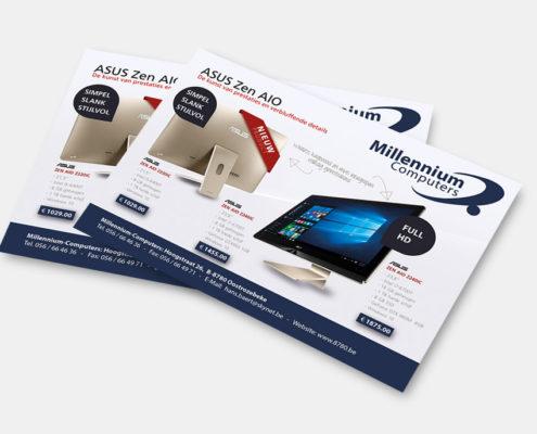 Advertentie Millennium-Computers