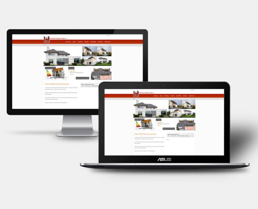 Website Hugo Vannieuwenhuyze